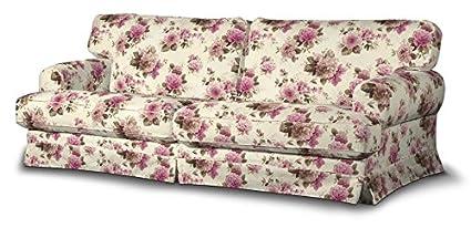 FRANC-TEXTIL 666-141-07 Ekeskog funda sofá no plegable, no plegable Ekeskog, Mirella, beige/rosa
