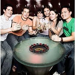 【Dream&hope】 ショットグラスルーレット パーティーやBARで盛り上がること間違いなし! ゲーム ロシアンルーレット お酒 BAR 罰ゲーム 合コン 居酒屋 キャバクラ 飲み会