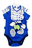 Disney Mickey Mouse Baby Boy 3 Piece Bodysuit Set 3-6 mo