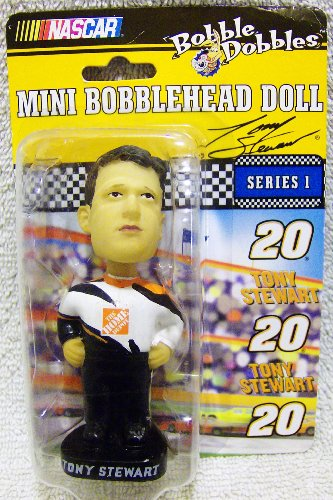 NASCAR Bobble Dobbles Mini Bobblehead #20 Tony Stewart
