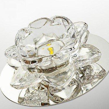 Mini Led Flush Mount Light 3W Crystal Lotus Fashion 85-265V