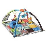 Infantino Twist and Fold Activity Gym, Vintage Boy ~ Infantino