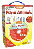 img - for My Take-Along Farm Animals Library (My Take-Along Library) book / textbook / text book