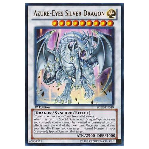 Yu-Gi-Oh! - Azure-Eyes Silver Dragon (SDBE-EN040) - Structure Deck
