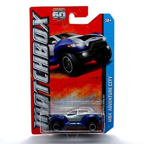 TURN TAMER * MBX ADVENTURE CITY * 60th Anniversary Matchbox 2013 Basic Die-Cast Vehicle (#38 of 120)