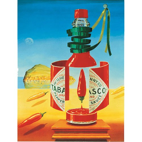 Tabasco surrealism poster prints posters for Posters art prints