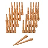 Miller Dowels, Birch, size 1x, 40 Pack