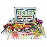 1947 69th Birthday Gift Basket Box Retro Nostalgic Candy