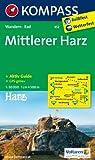 Mittlerer Harz: Wanderkarte mit Aktiv Guide und Radwegen. GPS-genau. 1:50000