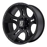 XD-Series 801 Crank Wheel with Matte Black Finish (18x9