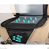 Cooling air car cushion seat cover 12V air ventilated fan air conditioned cooler pad