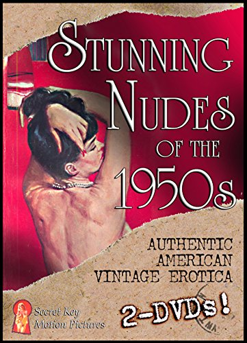 Stunning Nudes of the 1950's Double DVD Set: Burlesque Dancing and More