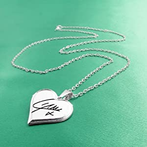 One Direction 'Liam Signature' Heart Necklace from BY GIOIA