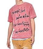 (ロックヘブン)LOCK HEAVEN 英字プリントオパール加工半袖Tシャツ×無地タンクトップアンサンブル