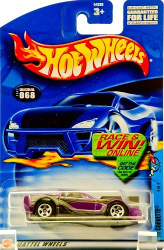 Hot Wheels 2002-068 '97 Corvette 2/4 1997 1:64 Scale - 1