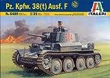 タミヤ イタレリ 1/35 ミリタリーシリーズ 6489 ドイツ 戦車 38(t) F型 38489