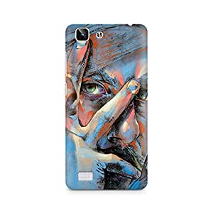 Mobicture Man Illustrated Premium Designer Mobile Back Case Cover For Vivo X5 back cover,Vivo X5 back cover 3d,Vivo X5 back cover printed,Vivo X5 back case,Vivo X5 back case cover,Vivo X5 cover,Vivo X5 covers and cases