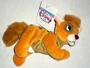 Amazon.com: Disney Oliver and Company Oliver Bean Plush ...