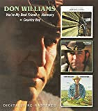 Don Williams  -  YouRe My Best Friend/Harmony/Country Boy