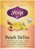 Peach Detox Tea Yogi Teas 16 Bag