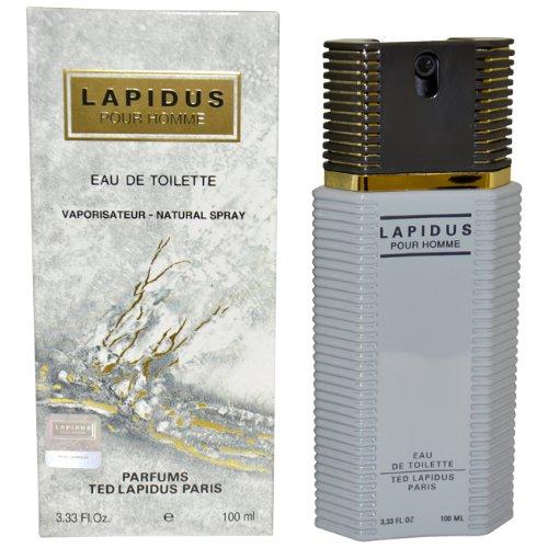 Lapidus By Ted Lapidus For Men. Eau De Toilette Spray 3.3 Ounces