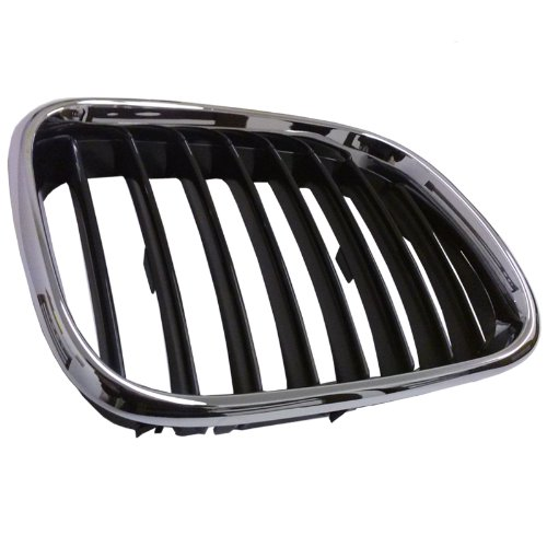 Keystone 51138402646 Bmw X5 Replacement Front Grille Chrome Passenger Side Bm1200153 (2001 Bmw X5 Grille compare prices)