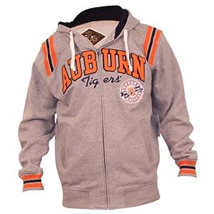 Auburn University Tigers Full Zip Hoodie by 3 Four