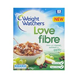 Weight Watchers Love Fibre Flakes with Raisins Sultanas and Apples Breakfast Cereal