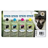 Epson T089 Multipack - noir, cyan, magenta, jaunepar Epson