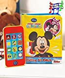 Disney Mickey Mouse Clubhouse Book & Phone Set, Great for Kids 3 Years Old and Up, Learn to Read with the Assistance of a Toy Smart Phone