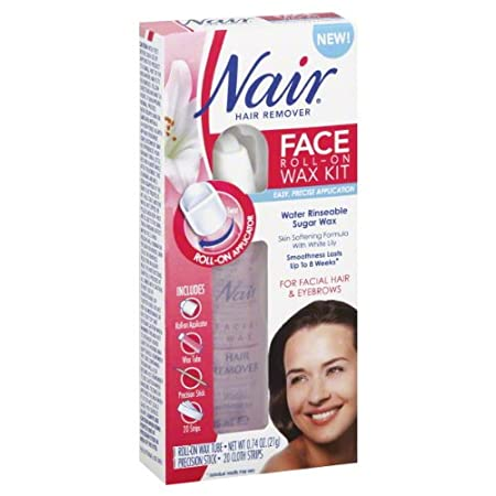 Nair Hair Remover, Face, Roll-On Wax Kit 1 kit at Sears.com