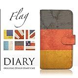 SHV32 (AQUOS SERIE):S 手帳型 ケース [国旗 フラッグ クール FAIRY TAIL] アクオス au dy001-00020-01 スマホ カバー ブックレット