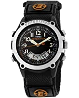Timex Men's T49741 Expedition Analog-Digital Black Fast Wrap Velcro Strap Watch