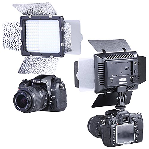 Bestlight W160 LED Photo Studio Barndoor Light Continuous Lighting Panel Kit LED Video Light for Digital Camera image