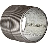 Anvil Steel Pipe Fitting, Schedule 40, Nipple, NPT Male, Galvanized Finish