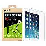 Cyxus(シクサズ) ブルーレイ青色光防止高光沢気泡極薄指紋液晶保護9Hの硬度強化ガラス保護フィルム Apple iPad Mini 4 用 Cyxus Technology Group Ltd