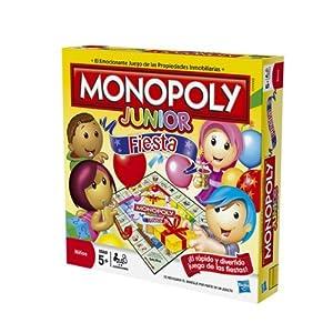 Juegos en familia Hasbro - Monopoly Junior Party 36887105