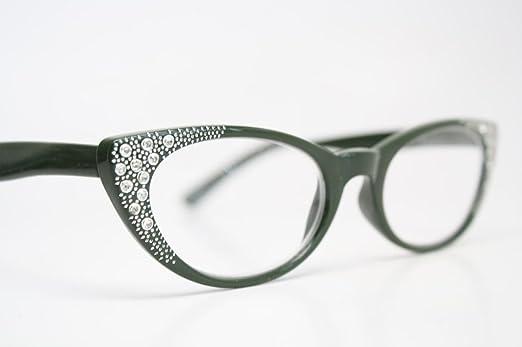 cat eye reading glasses rhinestone images
