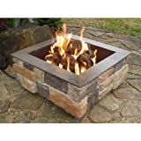 Firescapes Smooth Ledge Square Propane Fire Pit
