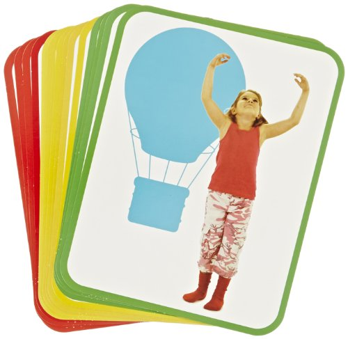 Roylco Body Poetry Illustrated Yoga Cards with Instructions - 8 1/2 x 11 inch - Set of 16 (Yoga Kids Cards compare prices)
