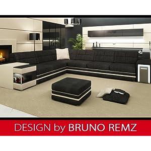 Neu Kaufen Bruno Remz Monza Design Sofa Couch Ecksofa Eckcouch Wohnlandschaft Stoffsofa Sofas Test