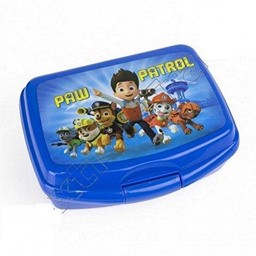 Pat sorveglianza-Scatola per la merenda o Contenitore per la colazione, colore: blu, Lunch box paw patrol