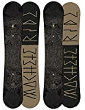 Ride Snowboards Herren All-Mountain Board schwarz 158