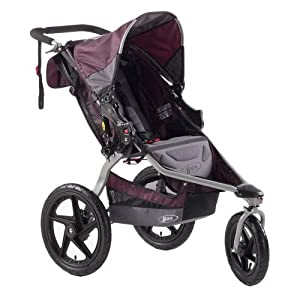 BOB Revolution SE Single Stroller, Plum