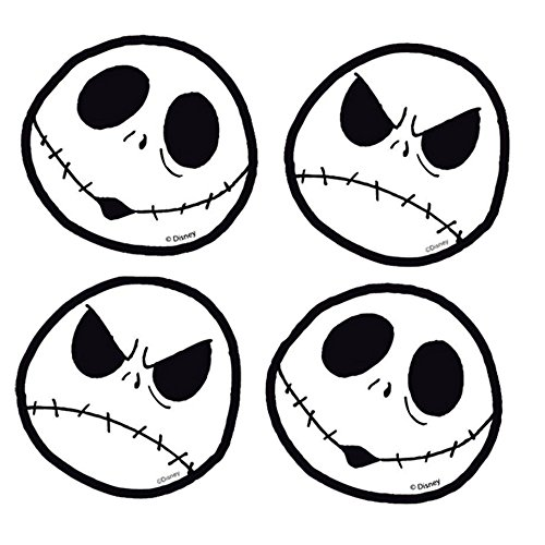 Jack Skellington Face Head Expressions Nightmare Before ...