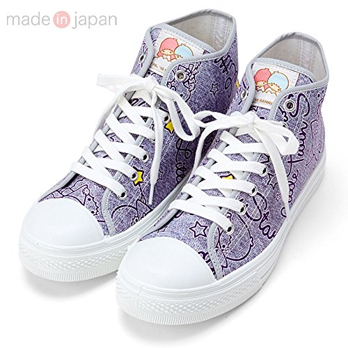 Sanrio Little Twin Stars high-cut sneakers 24.5cm From Japan New (Show Me Pictures Of Monster High)