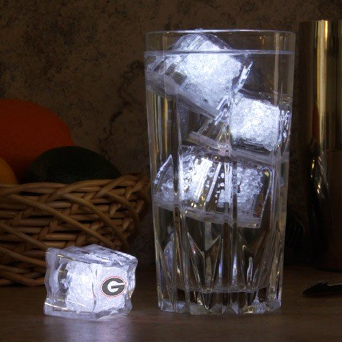 Ncaa Georgia Bulldogs 4-Pack Light-Up Party Cubes