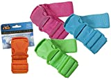 Neon Coloured Nylon Luggage Strap For Suitcases & Travel Bags- Set...