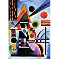"International Publishing 2901N16176 - Gold""KANDINSKY ROETHEL,T. II, N�734, SCHAUKELN, 1925, P. 690""  1500 Teile Puzzle"