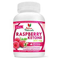 Activa Naturals Raspberry Ketones 500 mg - 100% Pure Raspberry Ketones Best Fat Burner - Double-Strength Raspberry Ketone - 60 Capsules